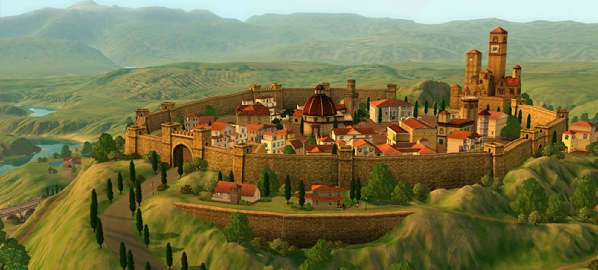 The Sims 3 world: Monte Vista list of lots and houses | The