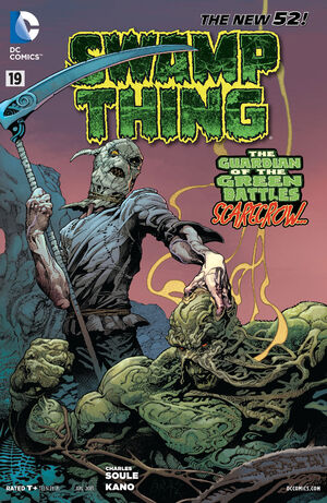 Cover for Swamp Thing #19