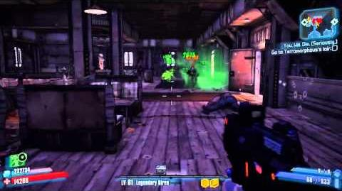 """Avenger"" PEARLESCENT WEAPON GAMEPLAY! BORDERLANDS 2!"