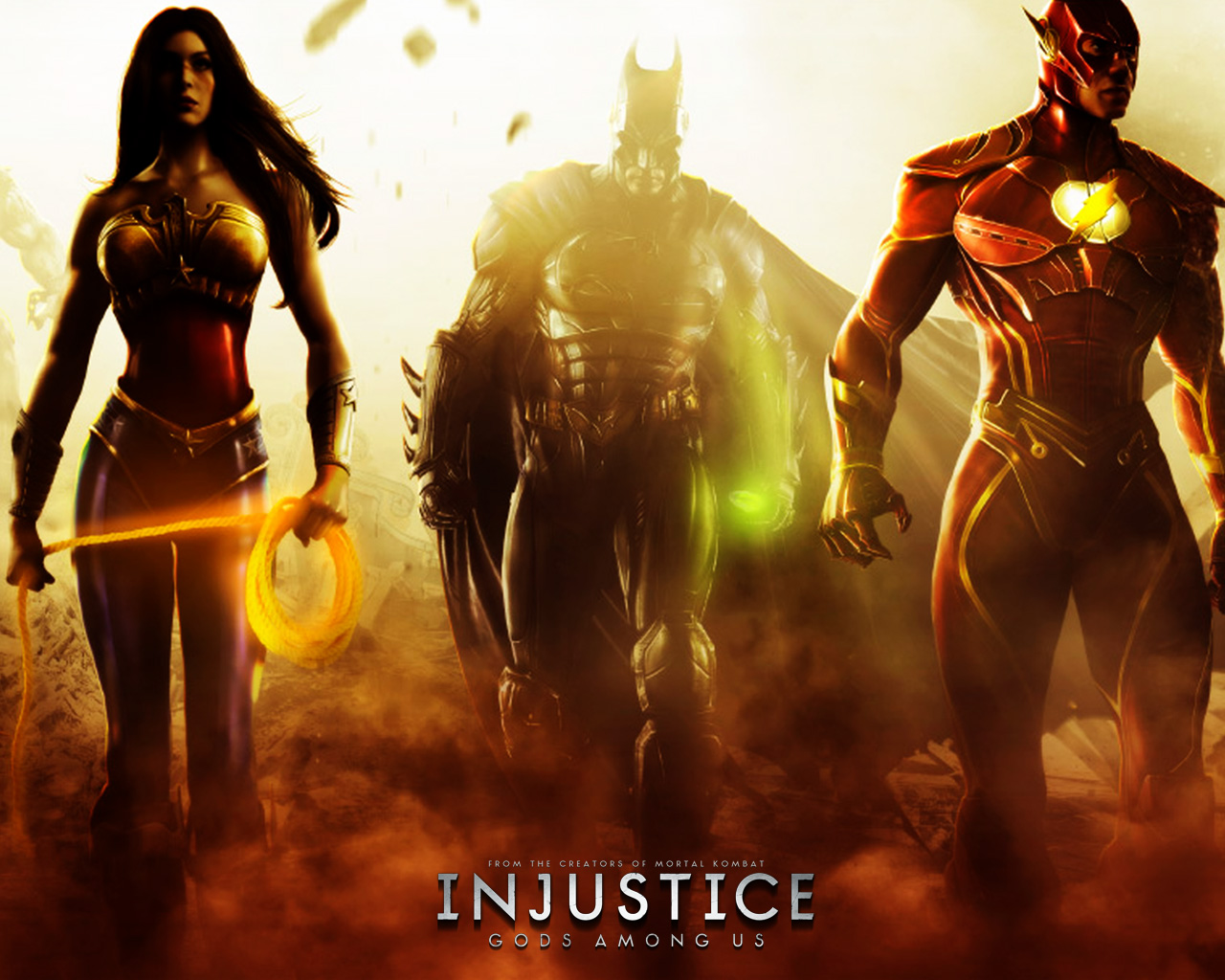 INJUSTICE, GODs AMONG US Just2