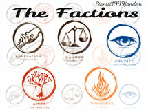 The factions edit 