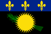 Flag of Guadeloupe (local)