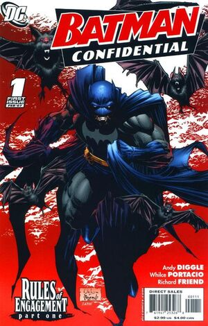 Cover for Batman Confidential #1 (2007)