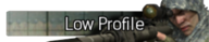 Low Profile title MW2
