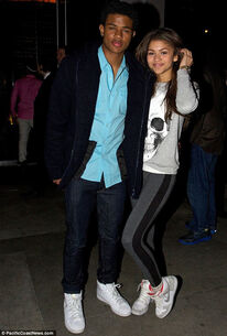 Zendaya-coleman-and-Trevor-Jackson