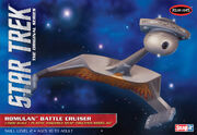 Polar Lights Model kit POL897 Romulan Battle Cruiser 2012