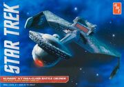 AMT Model kit AMT794 K't'inga class battle cruiser 2012