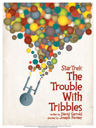 QMX Trouble with Tribbles Art Print