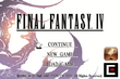 Final Fantasy IV IOS Title Screen