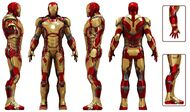 Iron Man Armor MK XLII (Earth-199999) 002