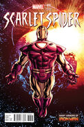 Scarlet Spider Vol 2 16 Many Armors of Iron Man Variant