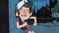 S1e5 dipper breaking down air vent