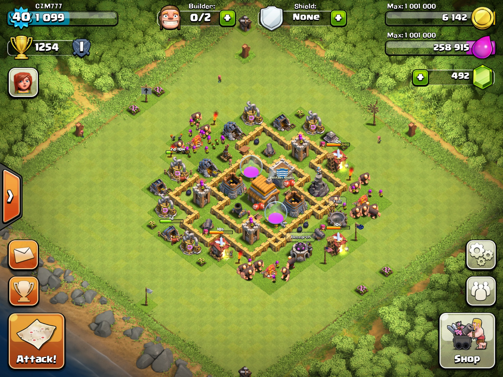 Clash of Clans Th5 Base