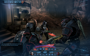 ME3 combat - PC HUD