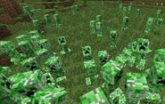Scattered cataclysm of creepers