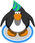 1st Year Party Hat In-Game