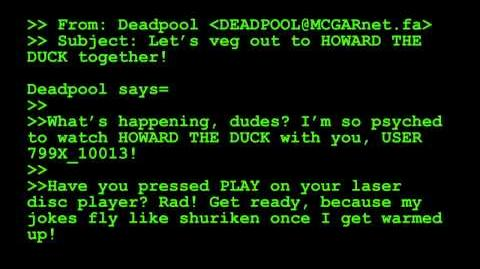 Deadpool 7 Automated Radical System - Marvel AR