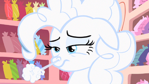 Pinkie Pie snort out flour S2E13