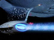 USS Enterprise-D navigational deflector