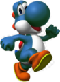 Old light blue yoshi