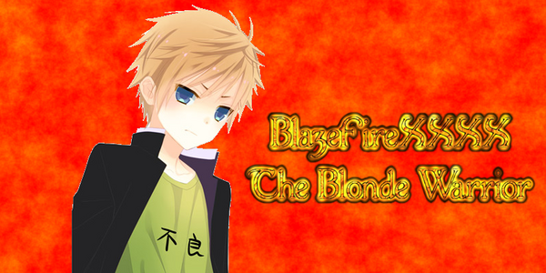 Blaze the Blonde Warrior