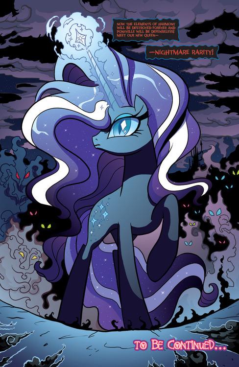 My little pony nightmare rarity