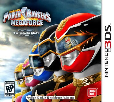 power rangers super megaforce games