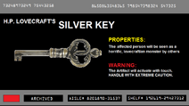 H.P. Lovecraft's Silver key