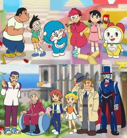 :Doraemon Nobita no Himitsu Dogu Museum All Characters Movie 2013.jpg
