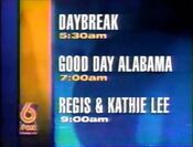 WBRC-TV FOX 6 Mornings promo 1997