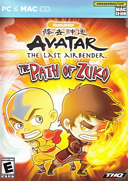 Path of Zuko cover