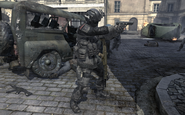 Russian Commando MW3