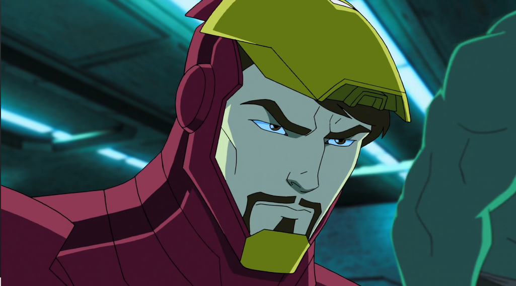 Iron man animated avengers - photo#28