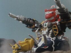 MMPR Megazord Tank Mode