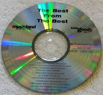 The best from the best DPRO 7-0876-10815-2-7 EMI WIKIPEDIA PROMO CD USA ROBERT PALMER DURAN DURAN