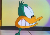 Gasp, my hero daffy duck