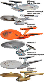 AA DST Enterprise refit