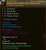 Ring of Larissa