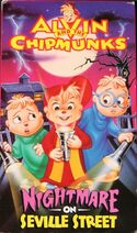 A&TC Nightmare on Seville Street VHS Cover