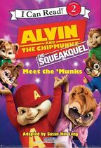 The Squeakquel Meet the 'Munks Book Illustration
