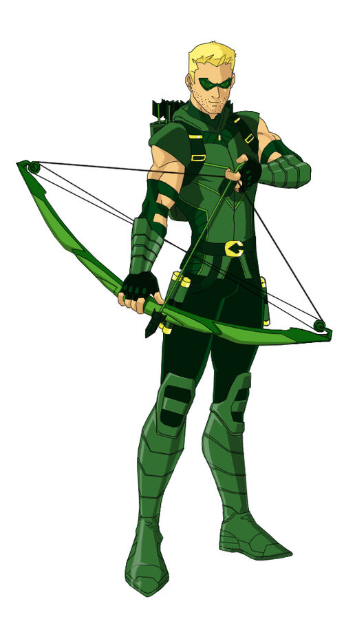 Image - Green arrow dcnu young justice by tumatae-d4z683z ...