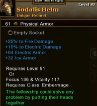 Sodalis Helm