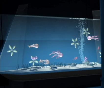 Aquarium wookieepedia the star wars wiki for Star wars fish tank decorations