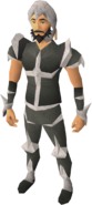 Skeletal armour equipped