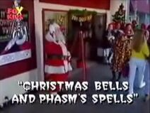 Christmas Bells and Phasm's Spells Title Card