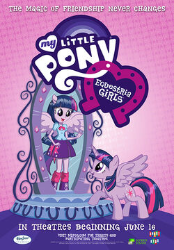 Equestria Girls June 16 2013 movie poster