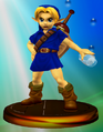 Young Link All-Star Trophy (Super Smash Bros. Melee).PNG
