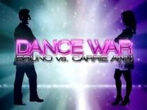 Dance War Bruno vs. Carrie Ann