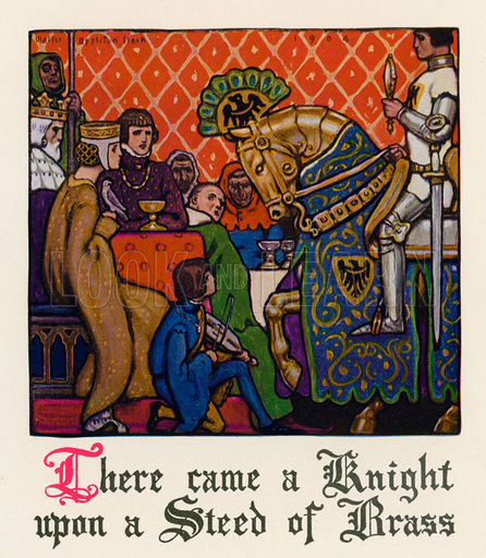 canterbury tales the squire and absolon The canterbury tales (italian:  absolon runs to a blacksmith's shop where he borrows a hot poker, then returns to the carpenter's house and asks for another kiss.