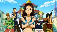 Cana leads Fairy Tail's Defenses